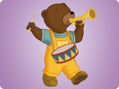 Petit ours brun le dessin anim - Petit ours dessin anime ...